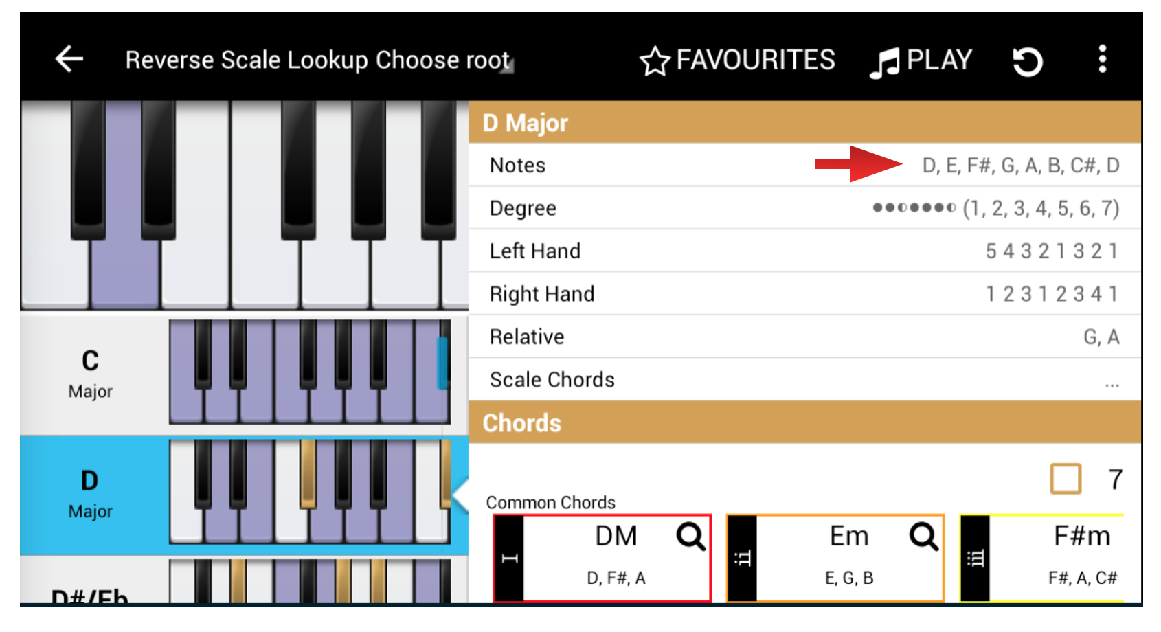 Tutorial 1 note names placement and major scale songtive blog hexwebz Image collections